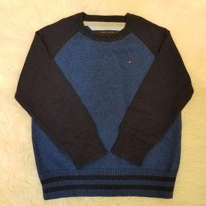 Tommy Hilfiger Crewneck Sweater Sz 6 Blue A2